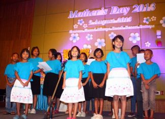 Children from Father Ray Children's Village sing Kha Nam Nom Mae - and ode to mothers everywhere.