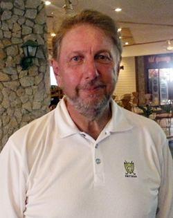 Wednesday winner, Peter LeNoury.