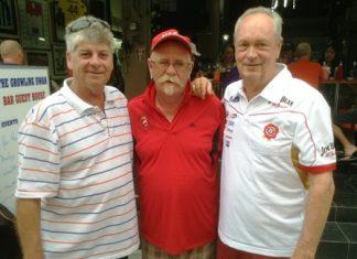 Gary Monley, Peter Grey & Martin Todd.