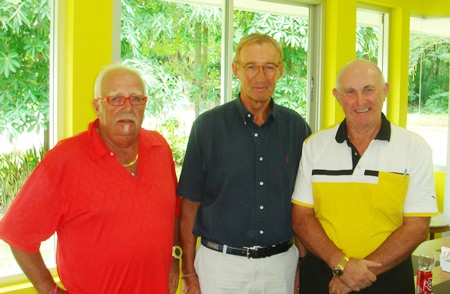 Tuesday winners (left-right) Greig Ritchie, Willim Lasonder and Jeff North.