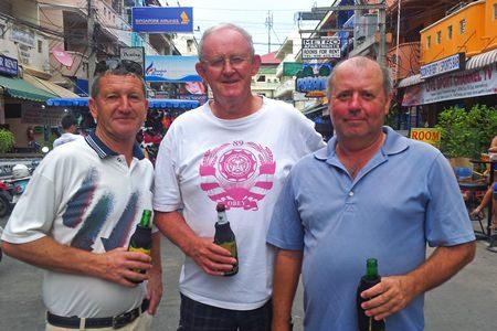 Gary Emmett, Max Scott and Bob Watson.