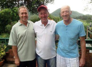 Wayne Chatfield, Gerry Arthur & Steve Jones.