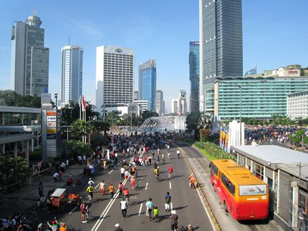 Jakarta, capital of Indonesia, registered 34.2 percent growth in its luxury residential market during the second quarter of 2013. (Photo Wikipedia commons/Gunawan Kartapranata)
