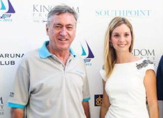 Irina Breslavtseva (right) stands with Kingdom Property CEO Nigel Cornick.