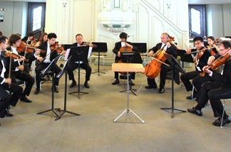The Silapakorn Summer Music School String Orchestra.