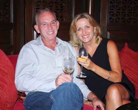 Iain and Ann Frew.