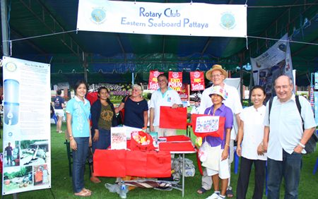 Rotary Club Eastern Seaboard Pattaya continues to do their part to help those less fortunate, including putting an end to world polio.