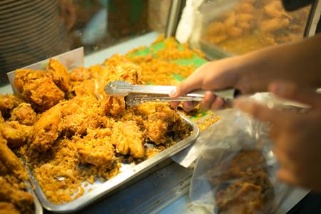 Pattaya's supreme fried chicken, a stone's throw from the Hard Rock Hotel.