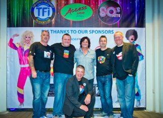 TFI organizing committee: Matt O'Sullivan, Joe Cox, Earl Brown, Paul Strachan and Nigel Quennell.