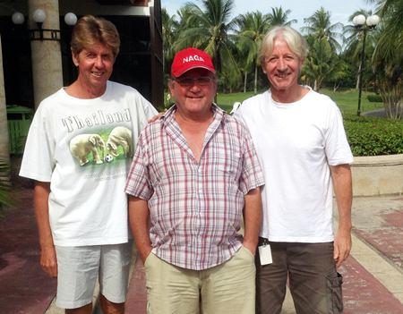 Gerd Riedler, Geri Crilly & Patrick Poussier.