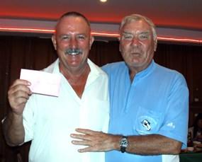 Sunday winners - Jim Bell & Peter Henshaw.