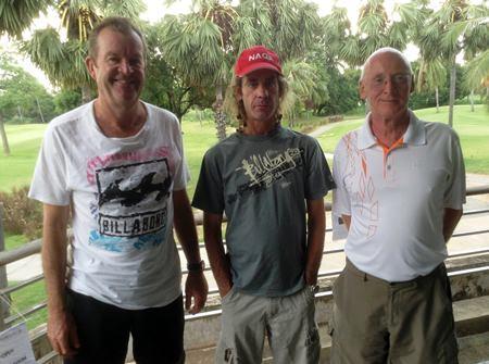 Kev Waycott, Niall Stuart & Graham Buckingham.