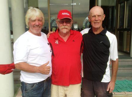 Paul Hack, Peter Grey & Alain Taddei.
