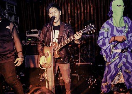 Paradox give it full blast at Hard Rock Cafe Pattaya
