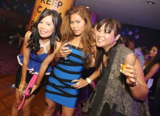 Lovely Thai ladies get down and boogie to some 70s Disco.