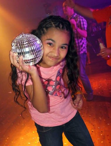 It just wouldn't be Disco without the ball.
