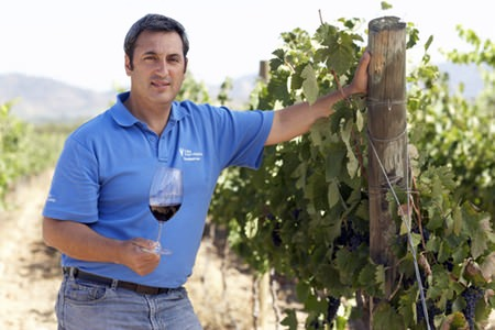 Felipe Tosso, Head winemaker at Viña Ventisquero.