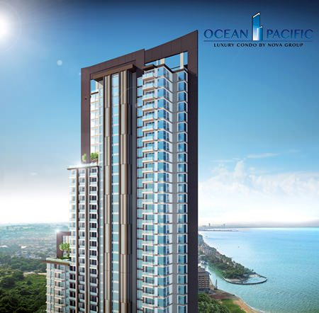 A computer graphic shows Ocean Pacific at Na Jomtien.