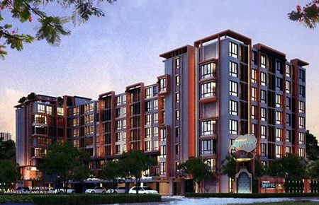 The Moroc Condominium by Embassy will incorporate 240 units in an 8-storey building with N. African themed architecture.