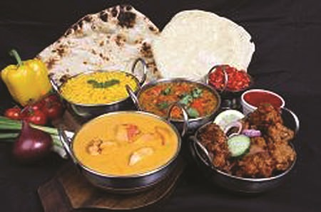 Delicious Indian cuisine at the Golden Chimney.