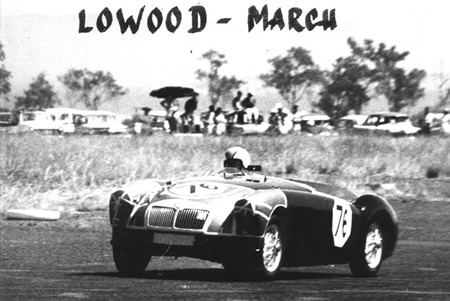 MGA, my introduction to motor racing in 1965.