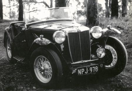 My first MG 1962.