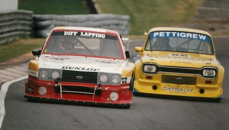 Escort MK II – Sandown 1996.