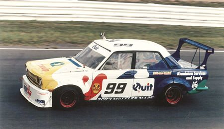 Championship winner Datsun 1600, Lakeside, QLD, 1995