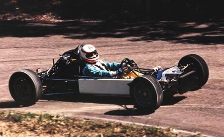 Mt. Cotton Australian Hillclimb Championship Class winner Open 600, 1992.
