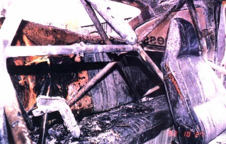 My close encounter with death, Gemini Fireball 1992.