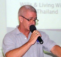 Lyndsey Rowe, Senior Client Adviser for MBMG Group Co. Ltd., provided an interesting overview of the need for creating a Thai Last Will and Testament to PCEC members and guests on 22 September, along with a brief mention about Living Wills. Living Wills are documents to be left to detail what arrangements are to be taken if you are hospitalised & 'non compus mentus' (Not of sound mind) i.e. incapable of making rational decision re how much effort should be taken to keep you alive - 'No Extraordinary Measures' 'Do Not Resuscitate' etc, etc.