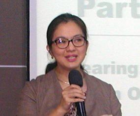 PCEC's speaker for October 20th was Dr. Mukda Pattana-anek, PhD, appearing on behalf of Bangkok Hospital Pattaya (BHP).