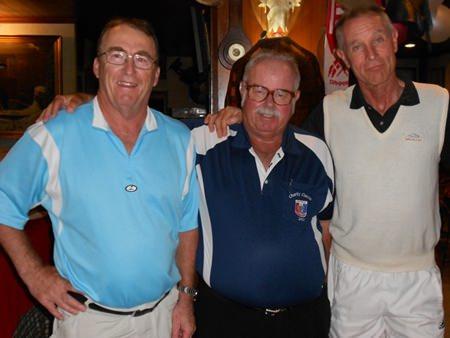 (Left-right): Brian Macdonald, Dave Richardson and Walter Baechli.