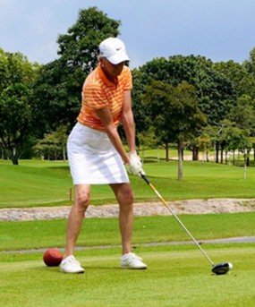 Over 100 male and female golfers turned out to support this year's tournament.