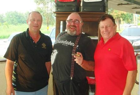 (Left-right): Helmut Hebstreit, Owen Walkley and Brian Maddox.