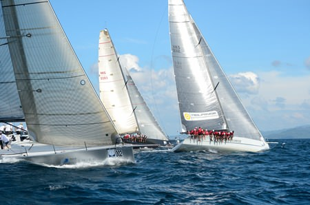 Over 100 vessels are expected on the start line for the 27th Phuket King's Cup Regatta, from 1–6 December, 2013.