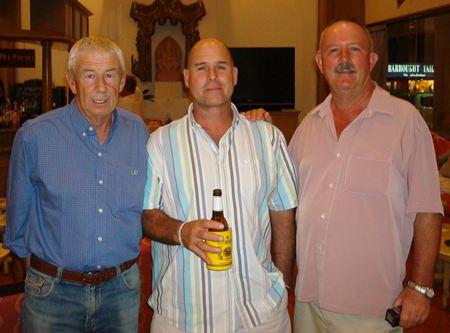 Hua Hin winners, Terry, Dave and Jim.
