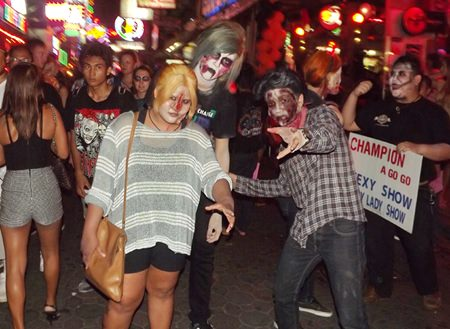 Just another typical night on Walking Street?