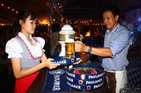 Paulaner beer flowed like the Blue Danube through Europe.
