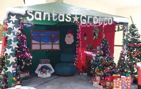 The event featured a wonderful Santa's Grotto.