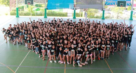 Around 300 students from 15 schools were at GIS for the FOBISSEA Music Festival.