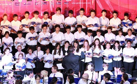 The choir was spectacular!