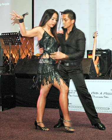 The sultry tango was a big hit with dance fans.