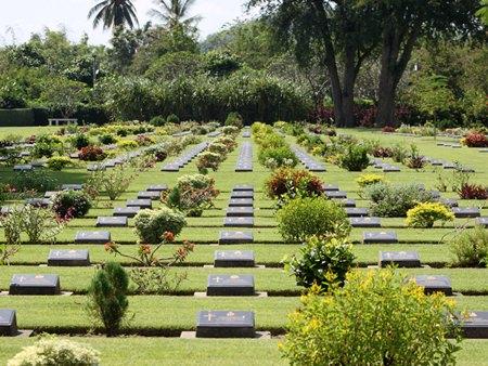 Don Rak War Cemetery, Kanchanaburi.