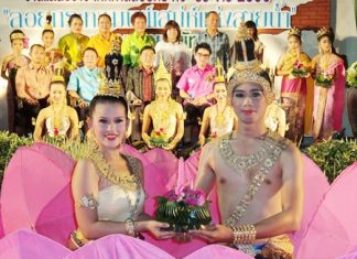 Nong Nooch Tropical Garden will celebrate Loy Krathong a day early, on Saturday, Nov. 16.