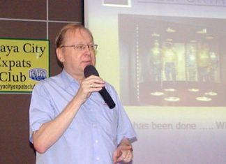 Pattaya's resident 'technologiste', Liberty Computers Steve Dickens addressed PCEC on the 10th of November on what the future will look like with new technologies under development.