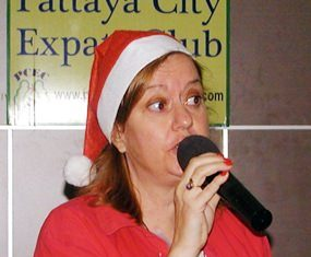 PCEC's meeting on September 17th began with Helle Rantsen, president of the Pattaya International Ladies Club, inviting PCEC members and guests to attend the PILCs' Christmas Bazaar next door at the Holiday Inn.