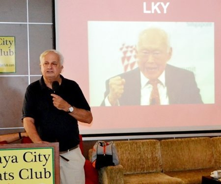 "Rey mentioned the acronyms ""LKY"" and ""PAP."" The first stands for Lee Kwan Yew, an ethnic Chinese, and the second for his Peoples Acton Party."