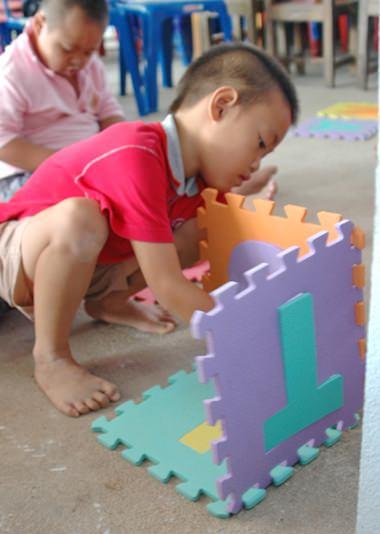 Brain activities for the children.