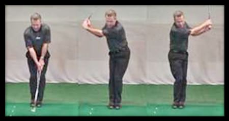The feet-together drill – creating an in-to-in swing path.